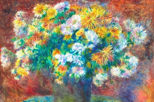 Pierre-Auguste Renoir - Chrysanthemums