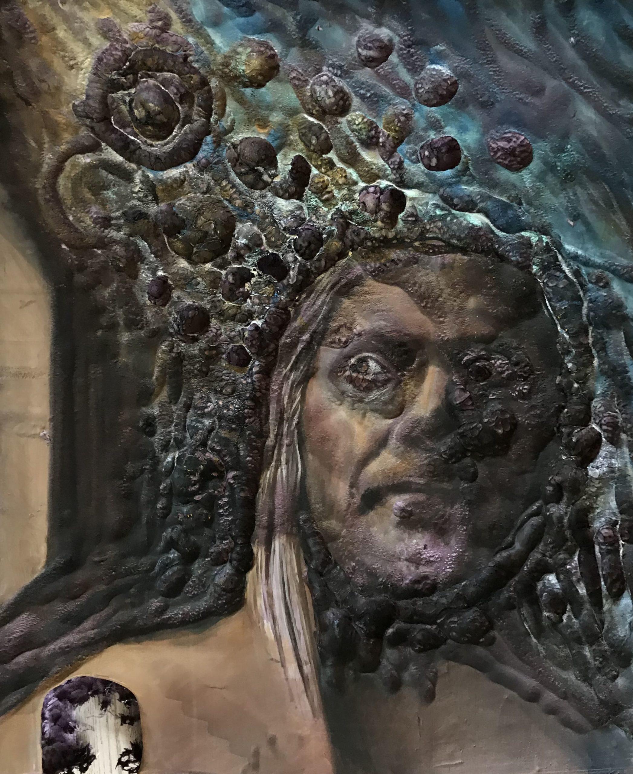 Holograficzny Autoportret Janusz Gilewicz w viewon.art