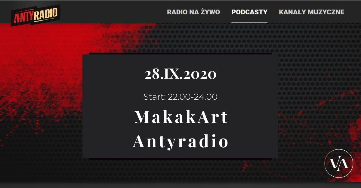 MakakArt w Antyradio - Janusz Gilewicz gościem Makaka