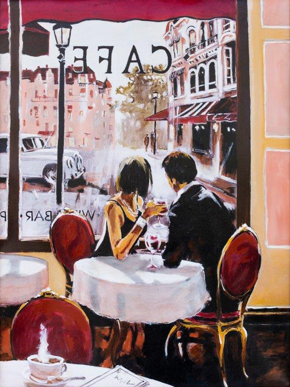 Cafe Jasmin Soljanin View on Art