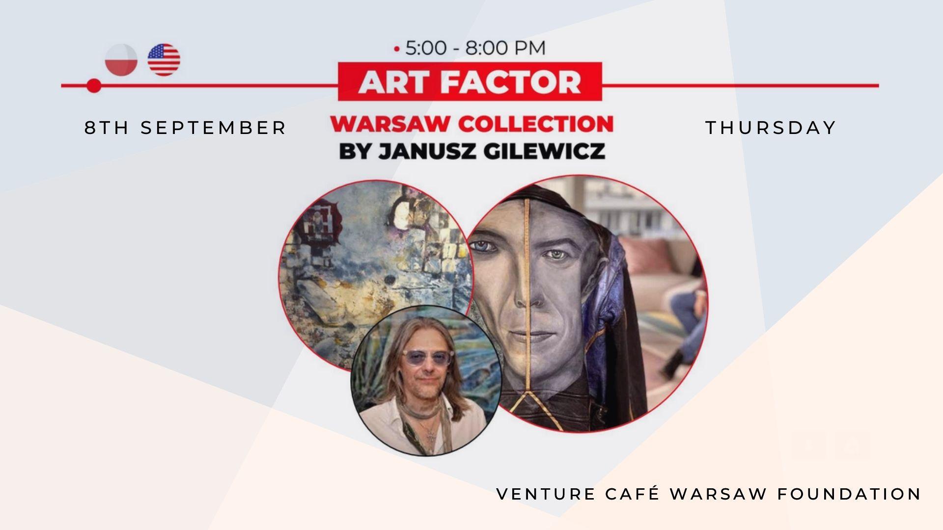 Warsaw Art Collection by Janusz Gilewicz