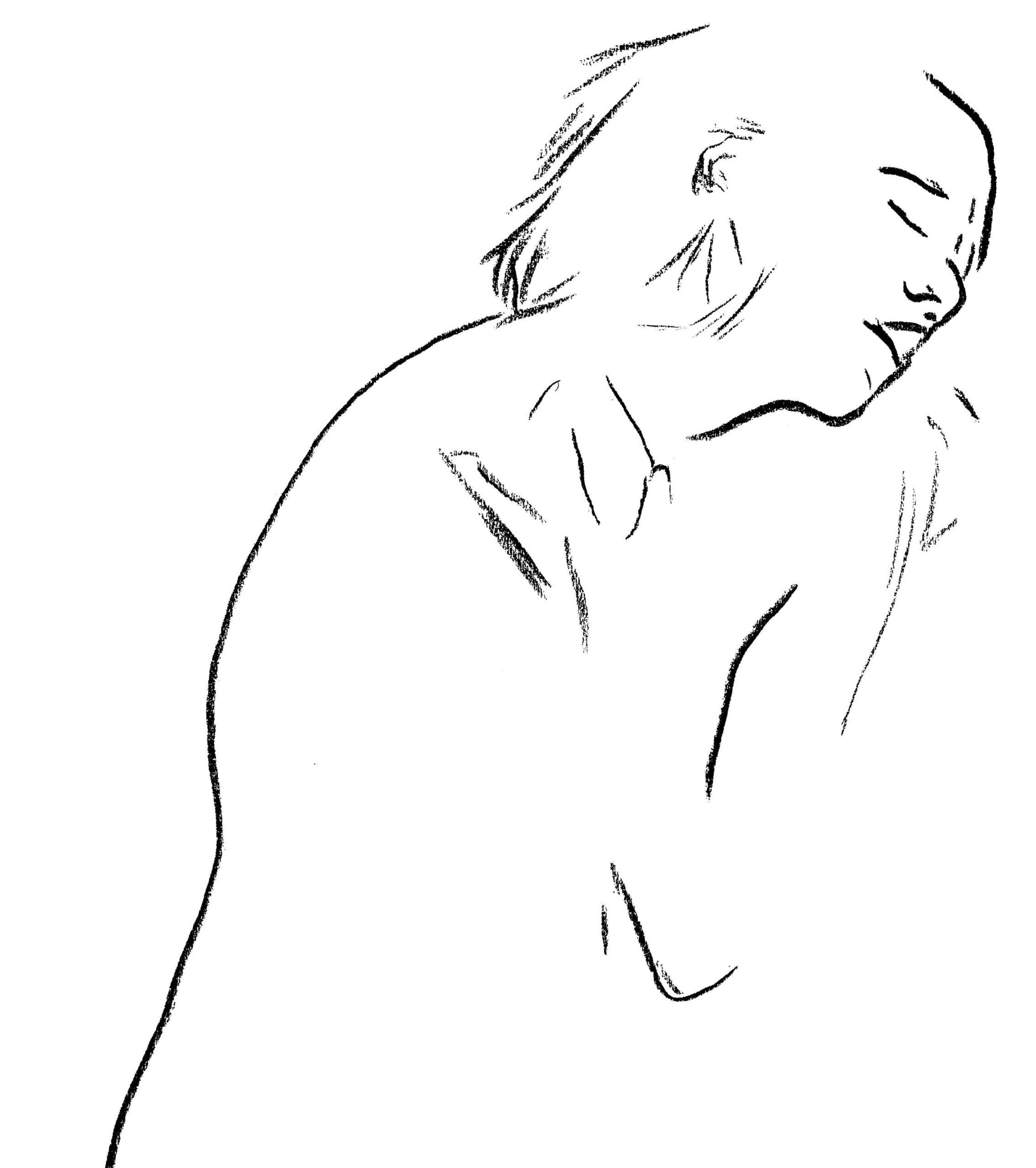 Cierpiąca Kobieta by Taisa Katrynets viewon.art-min